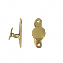 Brass Holdfast Cleat Hook Solid Brass Roman Blind Hold Fast Fastening Brassware